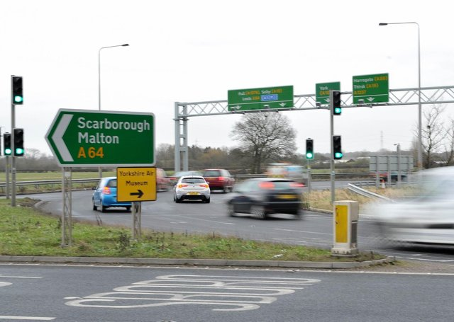 £8m is to be spent on further improvements to the A64.