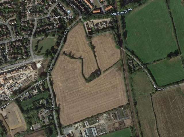 More than 300 homes are earmarked for the site off Long Lane