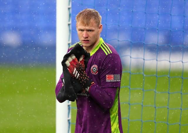 Sheffield United goalkeeper Aaron Ramsdale.