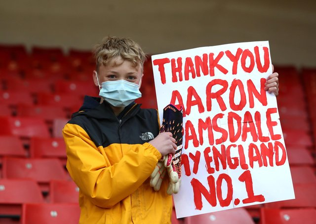 A young gives his verdict on Sheffield United goalkeeper Aaron Ramsdale.