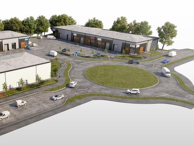 CGI of the new facility.