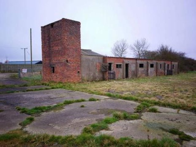 The former military camp at Gowthorpe