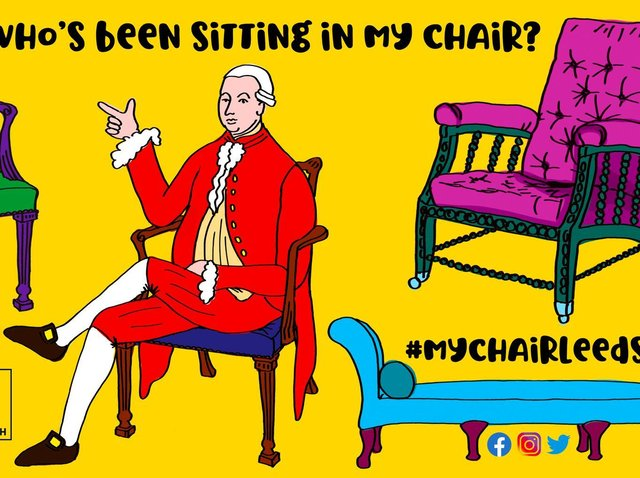'Who's been sitting in my chair?'
