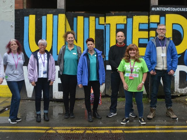 The Hepatitis C testing team at Forward Leeds