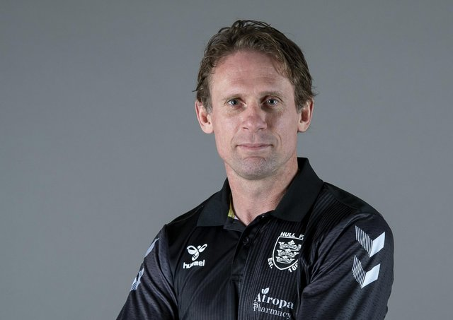 Coach Brett Hodgson says Hull FC will have to 'wise up' to beat St Helens in Saturday's Challenge Cup semi-final. Picture: Allan McKenzie/SWpix.com.