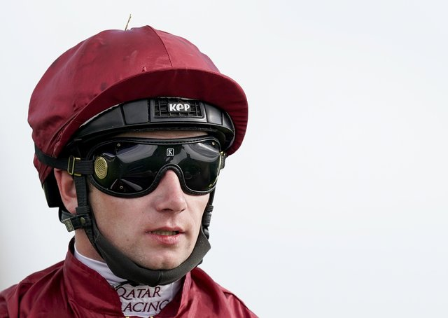 Dual champion jockey Oisin Murphy rides Ocean Road in today's Oaks after being left without a ride in the Derby.
