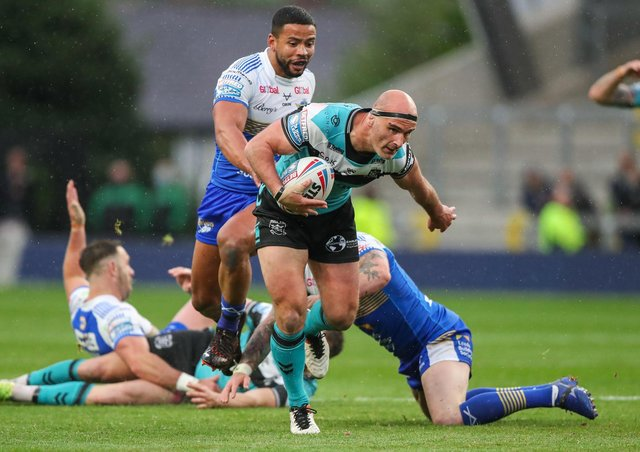 WEMBLEY RETURN? Hull FC's Danny Houghton is keen to reach another Challenge Cup Final. Picture by Alex Whitehead/SWpix.com