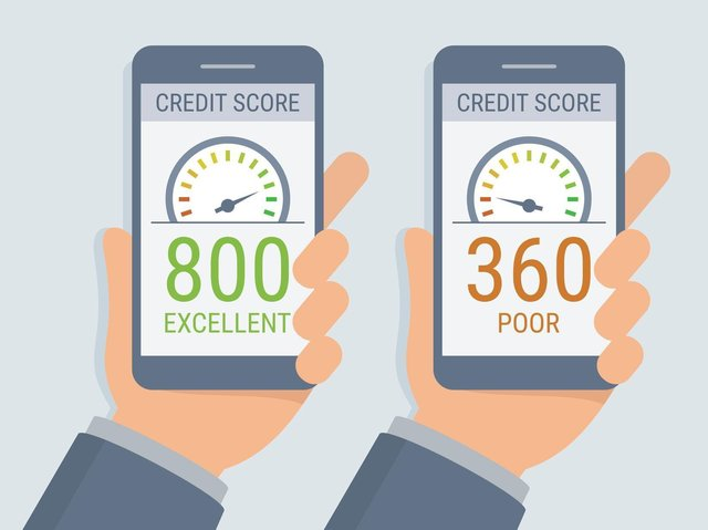 Credit scores are a numbers game.