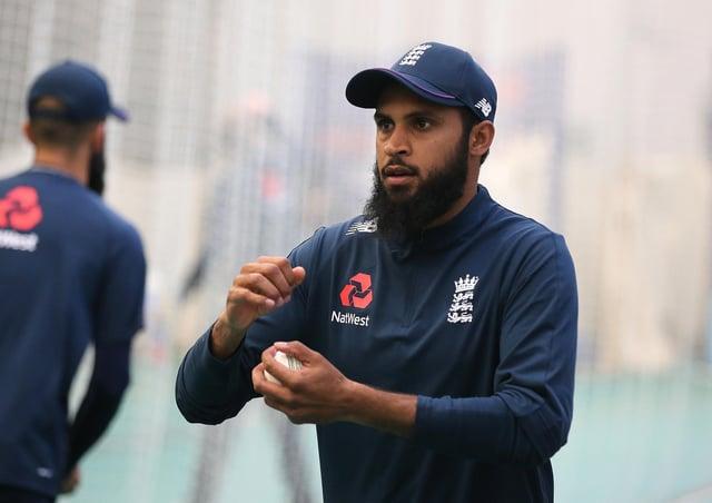 Cricket for all: England's Adil Rashid.