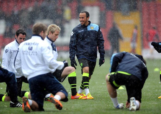 Troubled: Leeds United's Andros Townend in 2012.