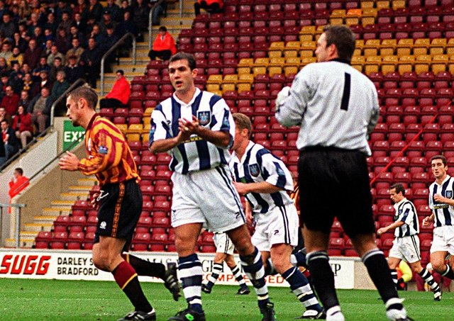Alan Miller: In his West Bromwich days against Bradford City.