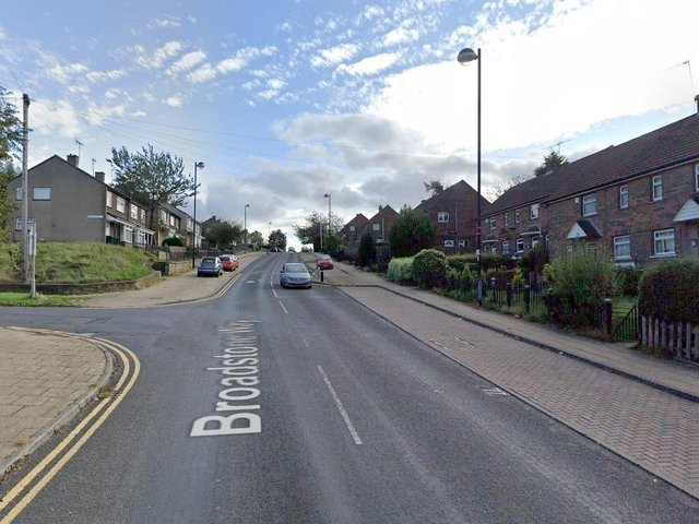 A 18-year-old man has died after a crash in Broadstone Way, Bradford.