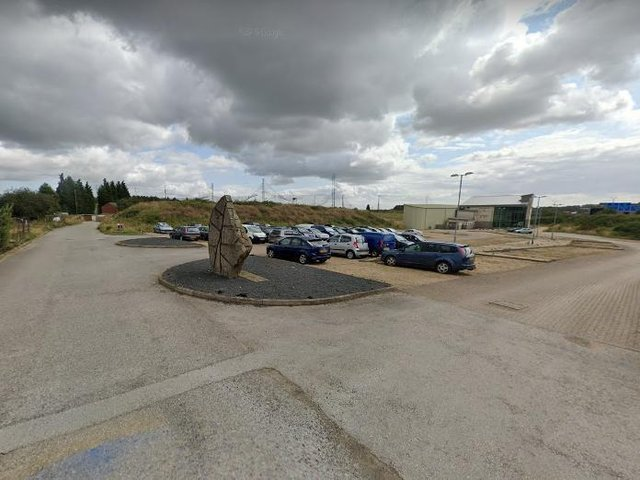 The remains of the golf club (pic: google maps)