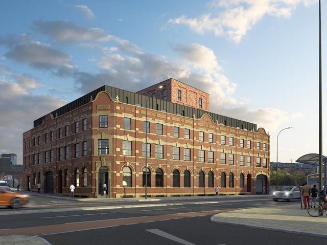 Developer Ashgate is regenerating the disused Nichols Building