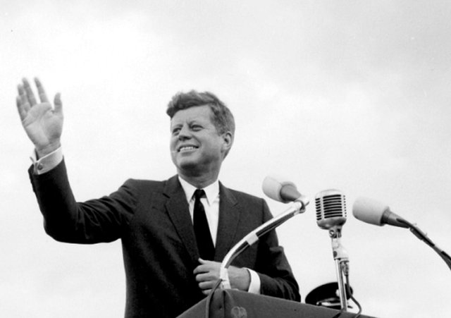 President John F Kennedy's inaugural address in 1963 should be used to guide Britons in an era of selfishness, suggests one letter writer.