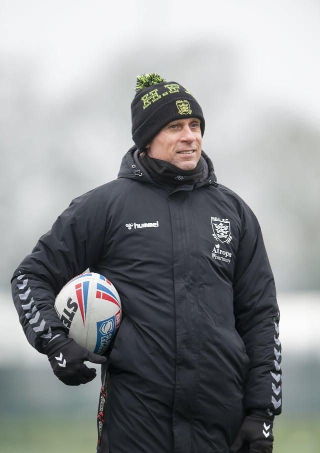 WEMBLEY AIMS: For Hull FC coach Brett Hodgson. Picture: Allan McKenzie\SWpix.com.