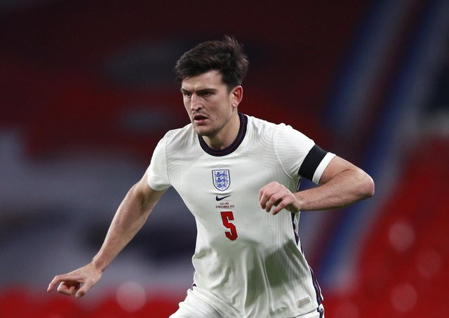 HARRY MAGUIRE: Questions remain over the central defenders fitness ahead of Euro 2020. Picture: Ian Walton/PA Wire.