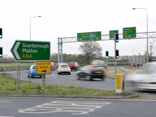 """Kevin Hollinrake, MP for Thirsk and Malton, said the bottle neck on the A64 is having a """"huge economic impact"""" on the region as a lot of people are """"deterred"""" from travelling between York and the east coast for work and tourism."""