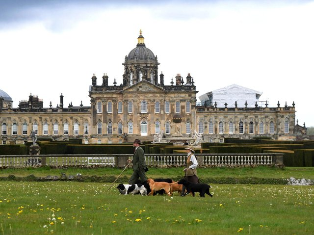 New guided dog tours have been launched sharing some of the estate's secrets