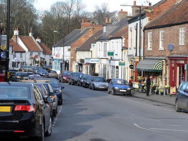 Boroughbridge town centre