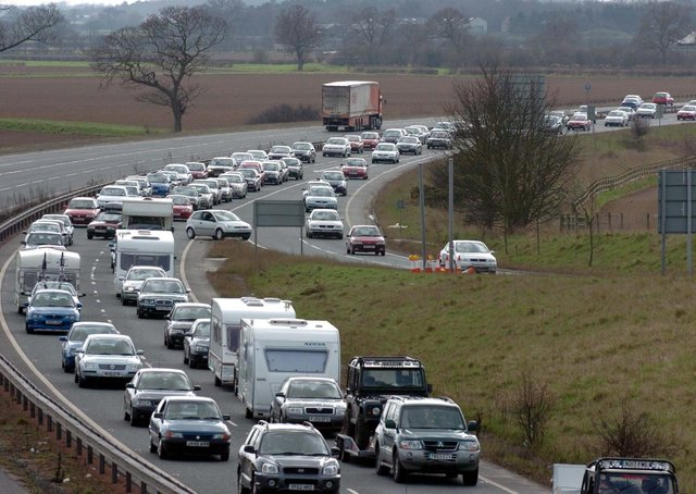 The A64 between York and Scarborough remains one of the country's worst bottlenecks on the road network.