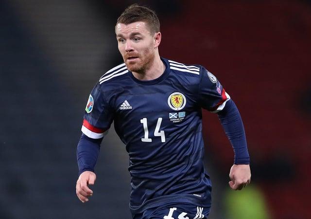 Isolated: Scotland's John Fleck.