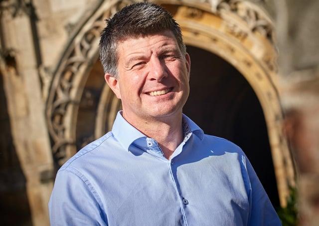 Karl Elliott, chief executive of Beverley Building Society.