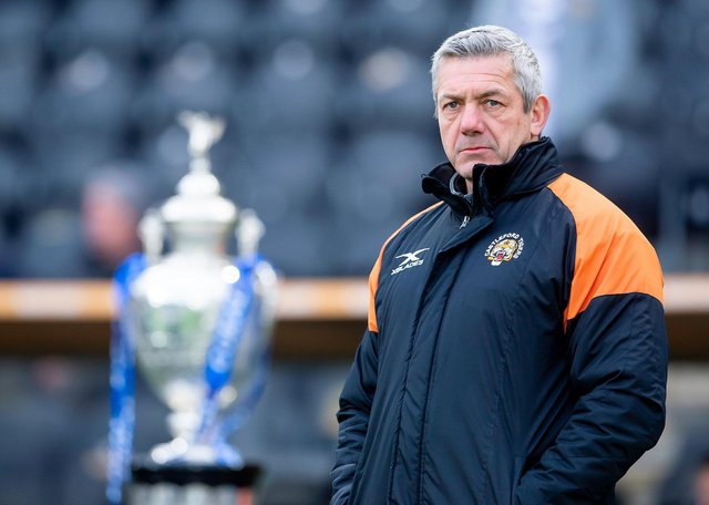 Daryl Powell: Has steered Castleford Tigers to a second Challenge Cup final of his tenure. (Picture: SWPix.com)
