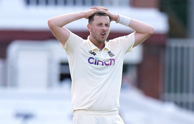 Stood down: England bowler Ollie Robinson. Picture: Adam Davy/PA Wire.