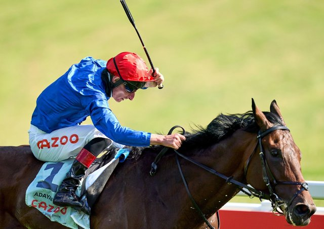 Adam Kirby ultimately won the Cazoo Derby on Adayar after being jocked off John Leeper for the big race.
