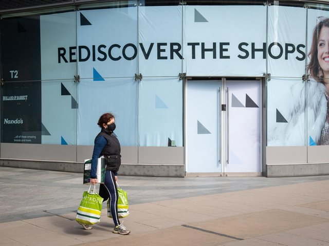 Retail is bouncing back according to new figures.
