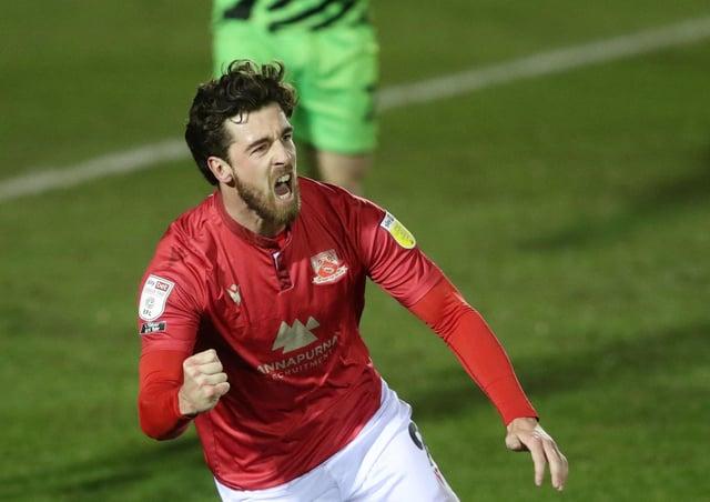 Potential target: Morecambe's Cole Stockton.