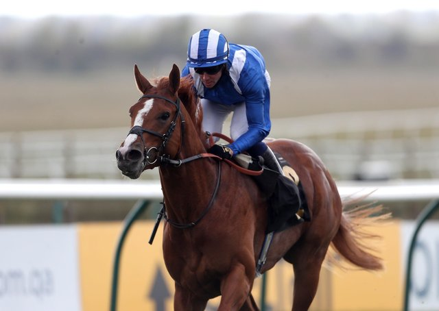 Jim Crowley's mount Mohaafeth was a late absentee from the Epsom Derby due to the unexpectedly soft ground.