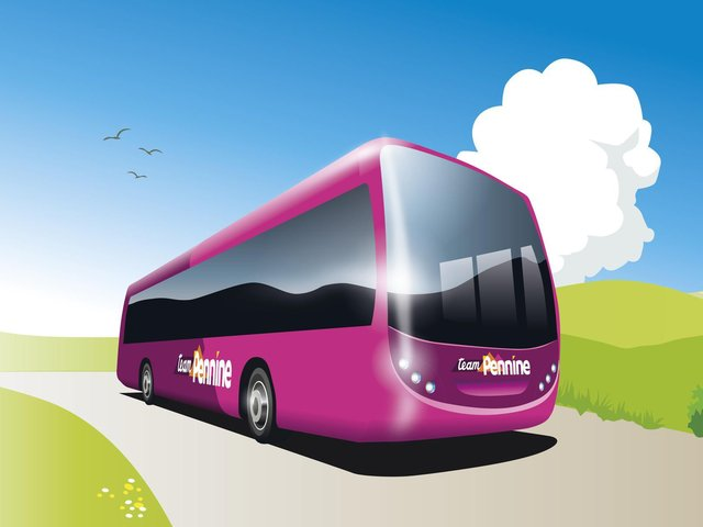 Transdev has revealed a new brand identity for bus services in and around Huddersfield and Halifax.