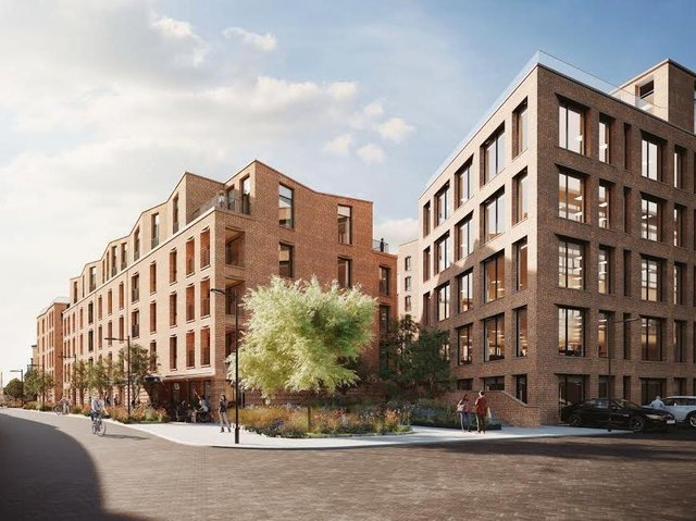 Over 39 per cent of the 127 Hudson Quarter apartments have been sold or are under offer