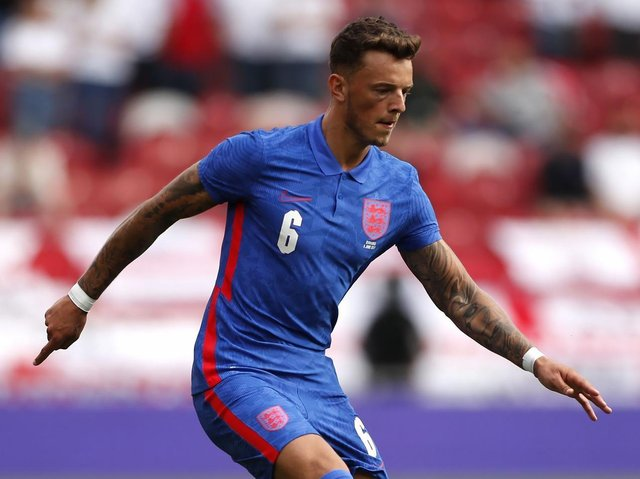 CALL-UP: Ben White was added to the England squad after Trent Alexander-Arnold's injury