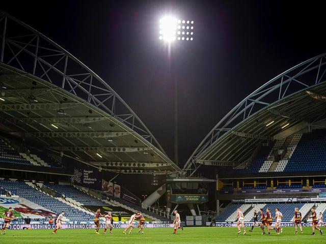 Huddersfield Giants' game at John Smith's Stadium is off. (ALLAN MCKENZIE/SWPIX)