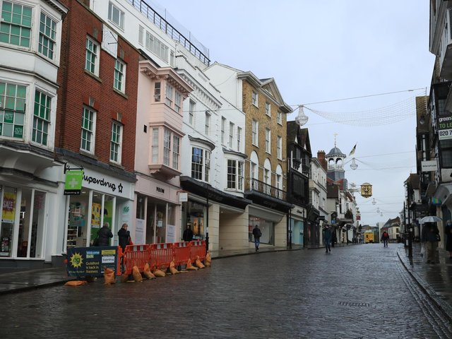 High streets were deserted during the height of Britain's lockdown. A spokesman said the Government understood how difficult the pandemic has been for small businesses