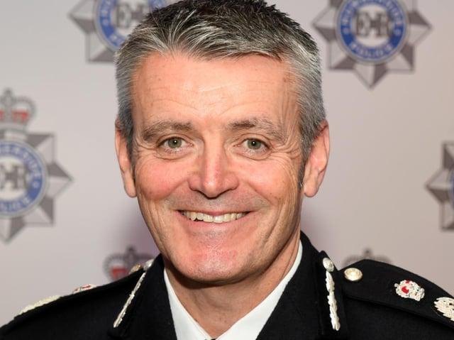 Humberside Police Chief Constable Lee Freeman.