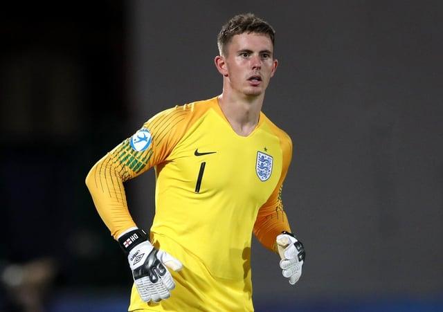 England's Dean Henderson. Photo: Nick Potts/PA Wire.