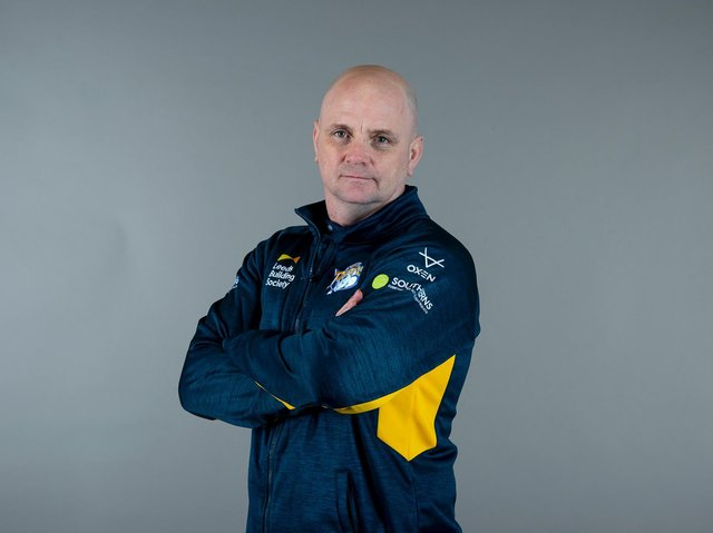 Leeds Rhinos boss Richard Agar (SWPIX)