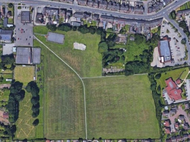 The scheme, submitted by Strata Homes, would have seen 196 homes  built on 10.16 hectares of land off Chapel Way and Lambrell Avenue, along with 439 parking spaces.