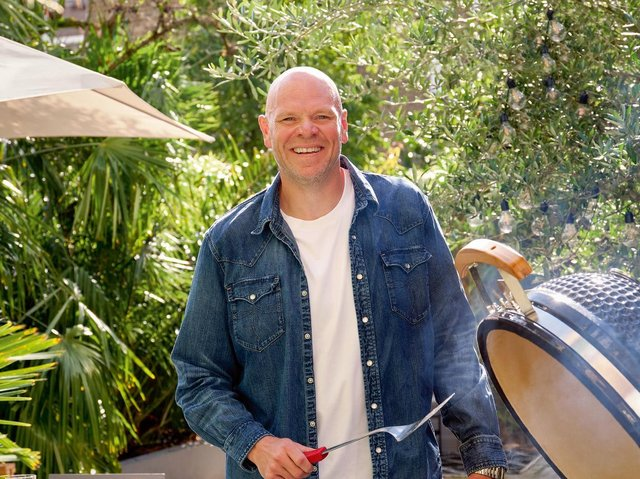 Tom Kerridge has released a new book about barbecue cooking.