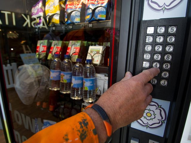 Could we import the Japanese passion for vending machines as a solution to staff shortages?