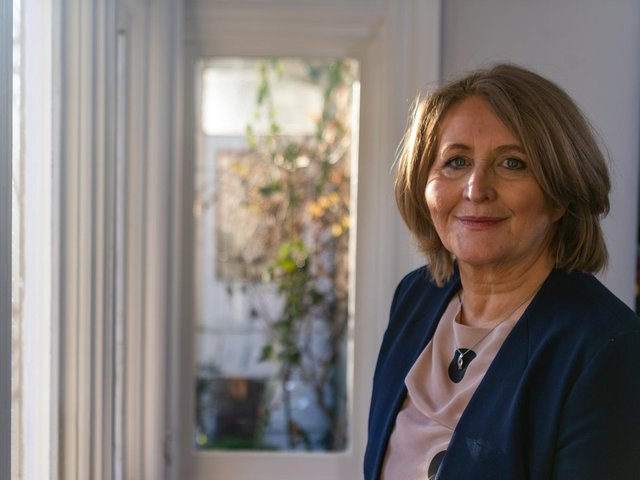 Anne Longfield, the former Children's Commissioner for England, pictured at her home in Ilkley. Photo credit: JPIMedia
