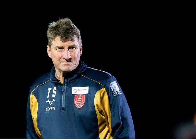 Hull KR coach Tony Smith. Picture: Allan McKenzie/SWpix.com