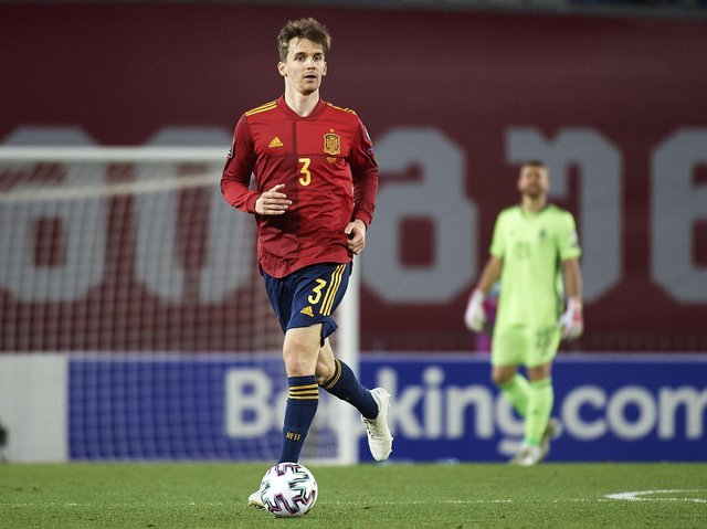 ILLNESS SCARE: But the signs are now hopeful for Diego Llorente