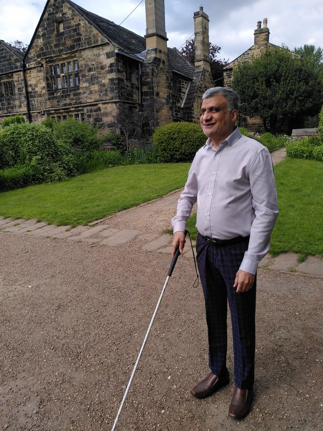 Khalid is walking 13 miles across the Yorkshire Dales for Macmillan