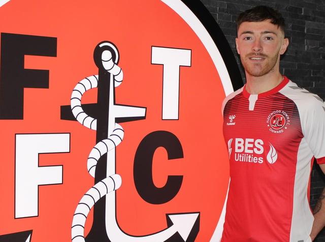 LOAN: Ryan Edmondson has joined Fleetwood Town from Leeds United