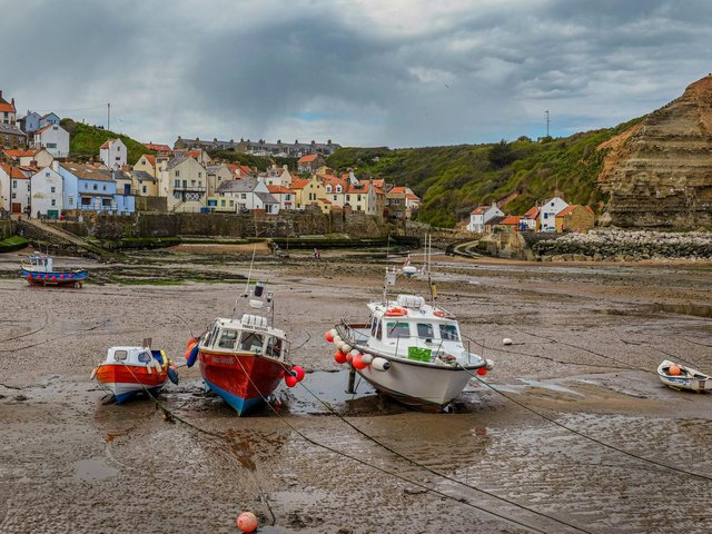 View of Staithes from the harbour on the North Yorkshire coast. Technical details: Fujifilm X-T1 18-55mm lens shot with the exposure 1/500th @ f9, 400 ISO. Picture by Tony Johnson.